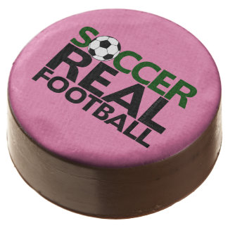 Soccer=Real Football Chocolate Dipped Oreo