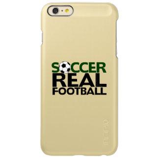 Soccer=Real Football Incipio Feather Shine iPhone 6 Plus Case