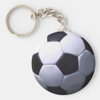 Soccer Real Football Keychain
