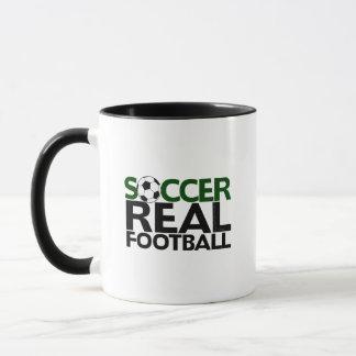 Soccer=Real Football Mug