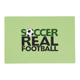 Soccer=Real Football Placemat