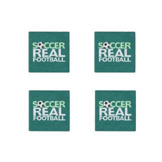 Soccer=Real Football Stone Magnet