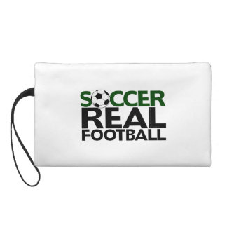 Soccer=Real Football Wristlet