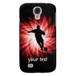 Soccer; red galaxy s4 cover