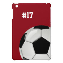 Soccer Red iPad Mini Case