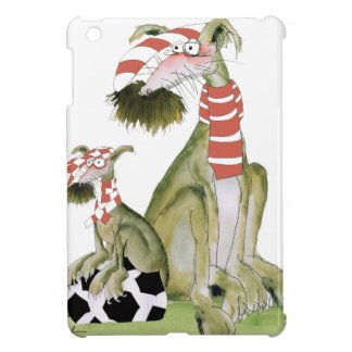 soccer reds, like father like son iPad mini cover