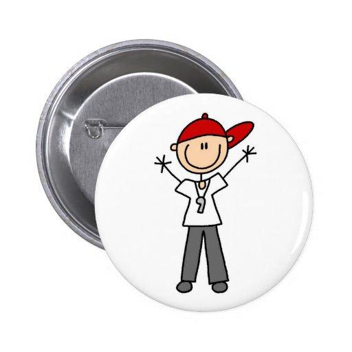 Soccer Referee Button