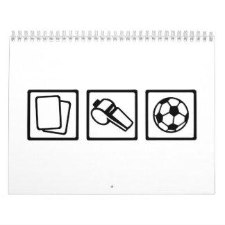 Soccer referee calendar