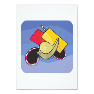 Soccer Referee Card