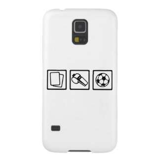Soccer referee case for galaxy s5