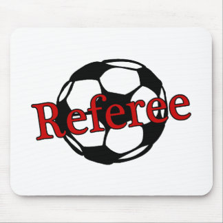 Soccer Referee Mouse Pad