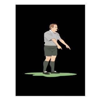 Soccer Referee Postcard