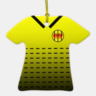 Soccer Referee Shirt Ornament