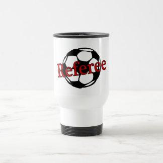 Soccer Referee Travel Mug