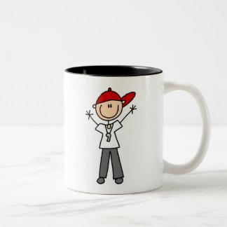 Soccer Referee Two-Tone Coffee Mug