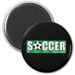 Soccer Refrigerator Magnet
