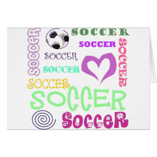 Soccer Repeating Card