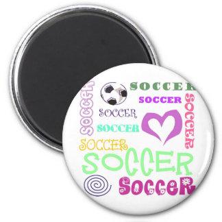 Soccer Repeating Fridge Magnet