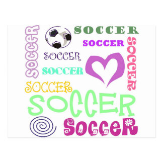 Soccer Repeating Postcard