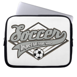 Soccer Respect Computer Sleeves