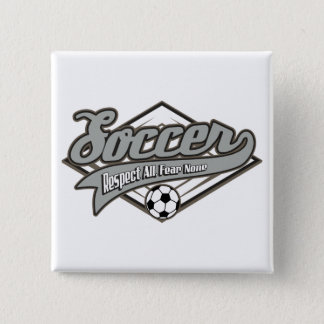 Soccer Respect Pinback Button