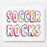 Soccer Rocks Mouse Pad