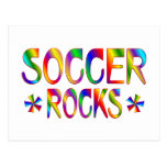 SOCCER ROCKS POSTCARD