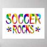SOCCER ROCKS PRINT