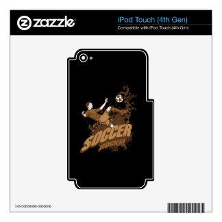 Soccer Rocks! iPod Touch 4G Skin