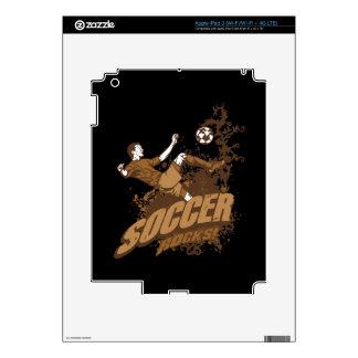 Soccer Rocks! iPad 3 Decal