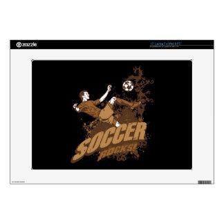 "Soccer Rocks! 15"" Laptop Decals"
