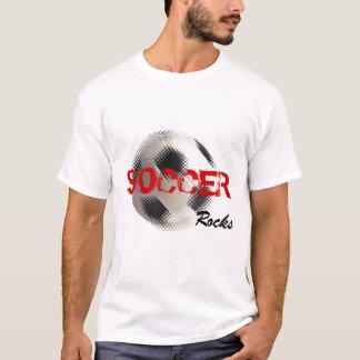 Soccer Rocks Soccer T-Shirt Template