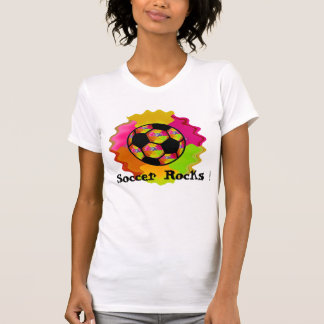 Soccer Rocks ! Tee Shirt