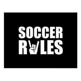 Soccer Rules Postcard