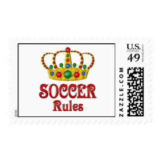 SOCCER RULES STAMPS