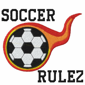 Soccer Rulez Embroidered Shirt