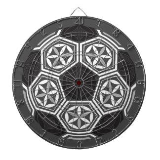 soccer sacred geometry dart board