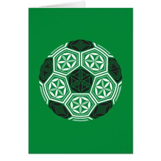 soccer sacred geometry green card