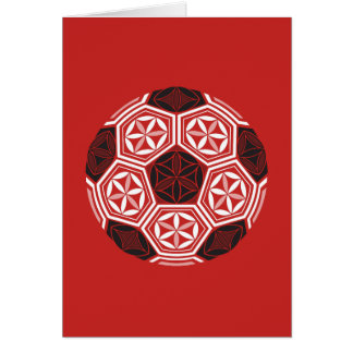 soccer sacred geometry red card