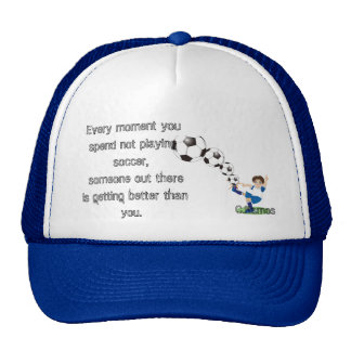 Soccer saying Hat by C.Ramos