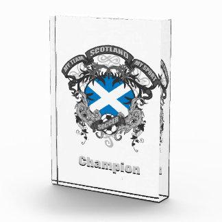 Soccer Scotland Acrylic Award