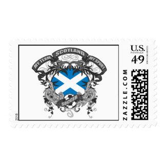 Soccer Scotland Postage Stamp