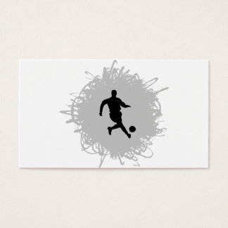 Soccer Scribble Style Business Card