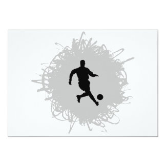 Soccer Scribble Style Card
