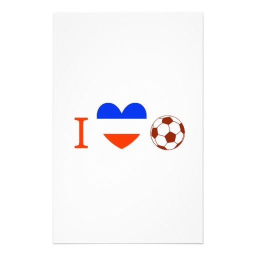 Soccer Season Stationery Design