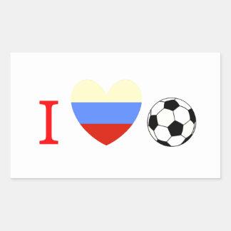 Soccer Season Rectangular Sticker