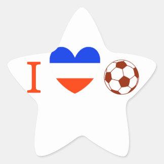 Soccer Season Star Stickers