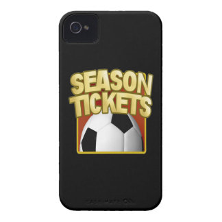 Soccer Season Tickets Case-Mate iPhone 4 Cases