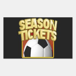 Soccer Season Tickets Sticker