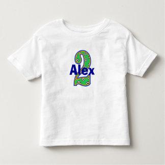 Soccer Second Birthday Shirt